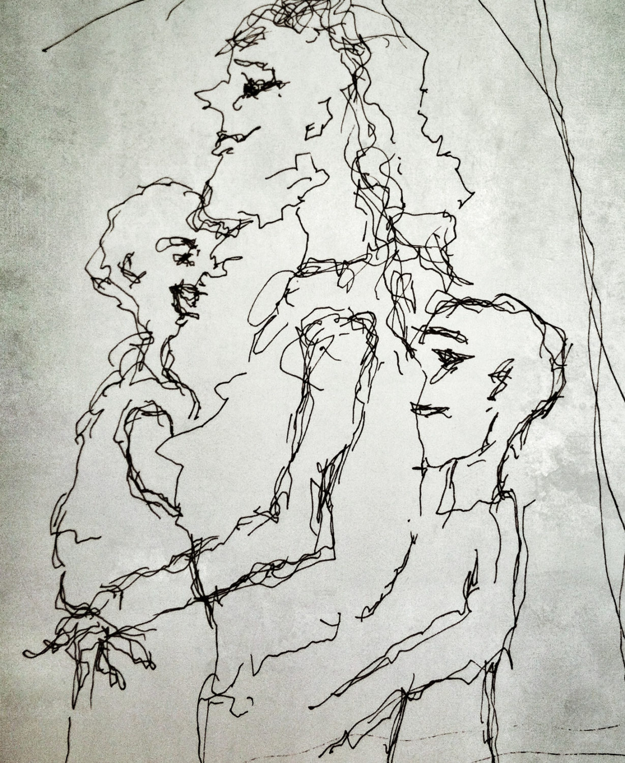 Scribble People